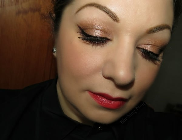 PUR Minerals Secret Crush palette eye look