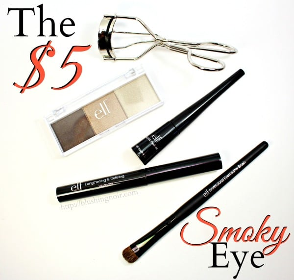 The $5 Smoky Eye ELF makeup