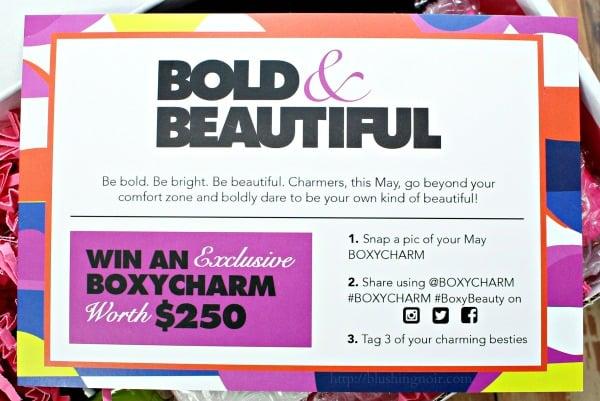 Boxycharm contest