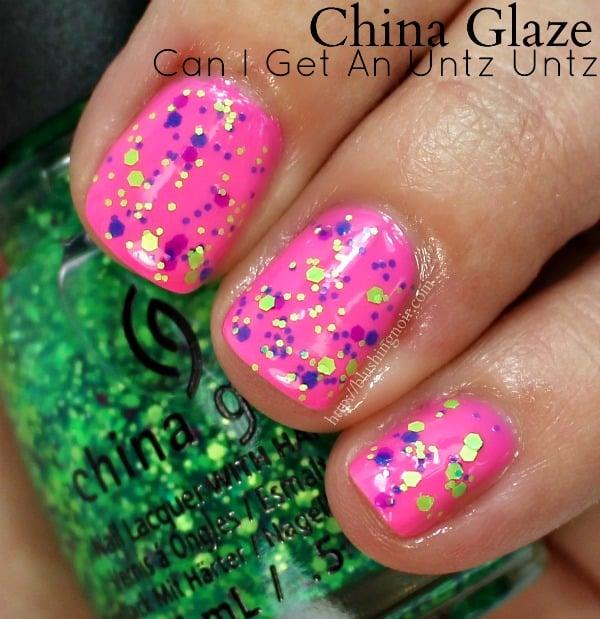 China Glaze Can I Get an Untz Untz Nail Polish Swatches