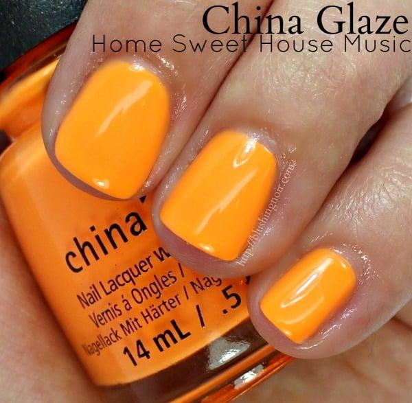 China Glaze Home Sweet House Music Nail Polish Swatches