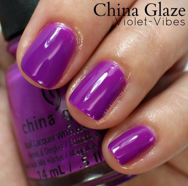 China Glaze Violet-Vibes Nail Polish Swatches