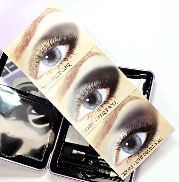 Hard Candy Smokey Eyes Eyeshadow Palette looks