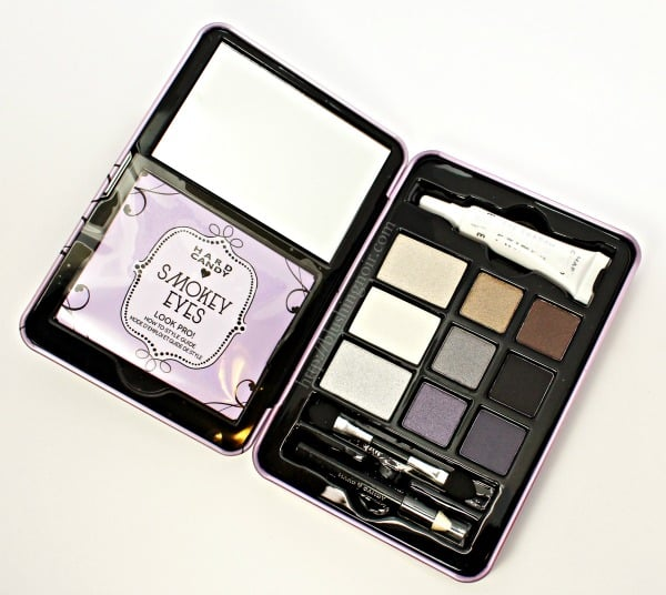 Hard Candy Smokey Eyes Eyeshadow Palette swatches review