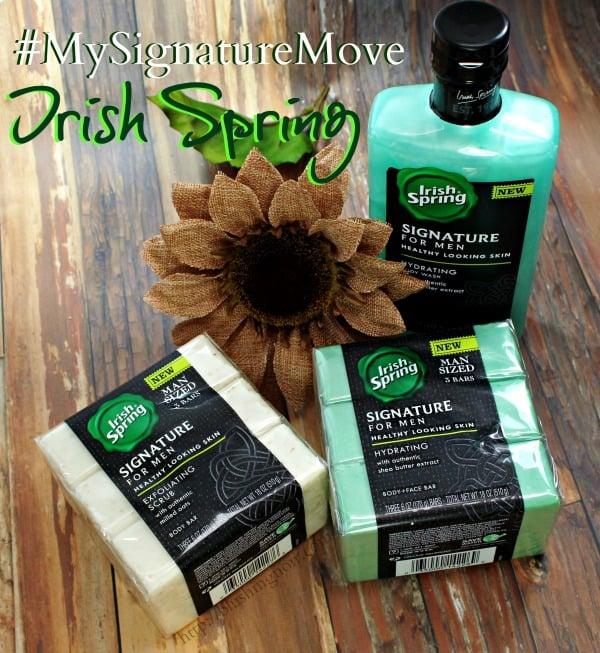 Irish Spring #MySignatureMove