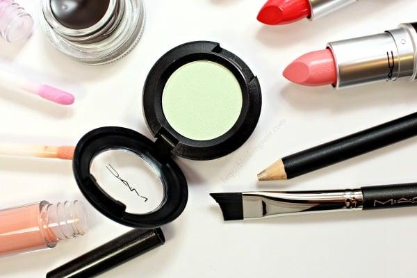 MAC is Beauty Preening Eye shadow Swatches