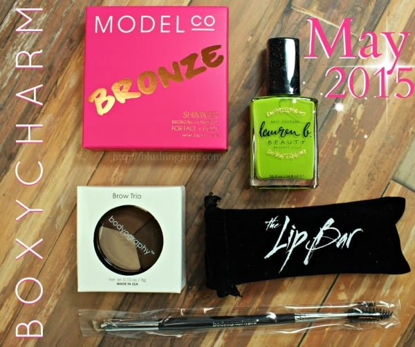 May 2015 Boxycharm Swatches Review Photos