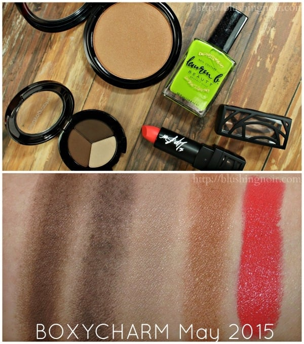 May 2015 Boxycharm Swatches