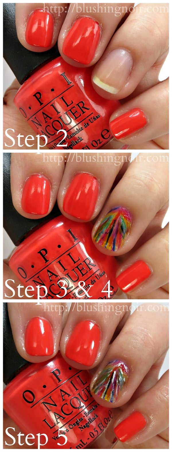 OPI Color Paints Nail Polish Tutorial