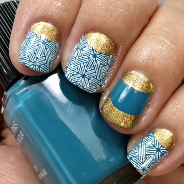 Scratch Lacework Nail Wraps swatches