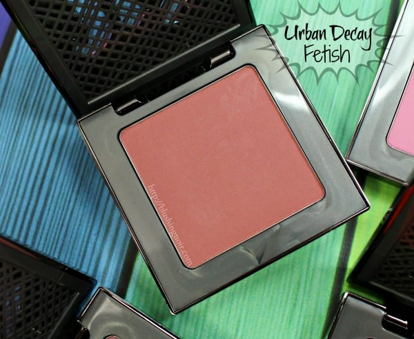 Urban Decay Fetish Afterglow Blush