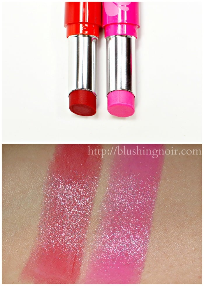 Bare Minerals Pop of Passion Lip Balm Swatches