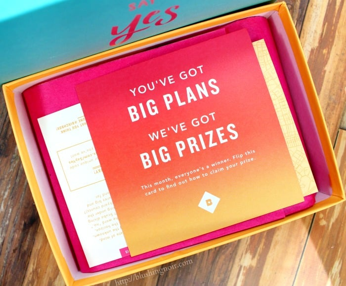 Birchbox Say Yes Giveaway