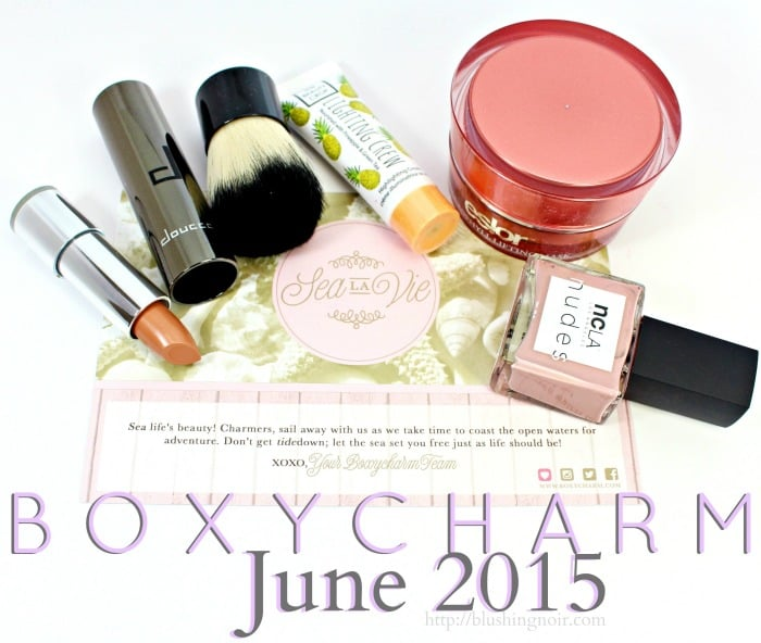 Boxycharm Review Swatches June 2015