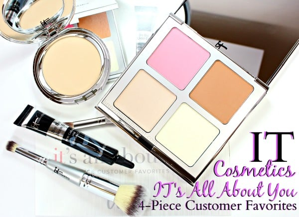 IT Cosmetics 4 piece customer favorites collection review