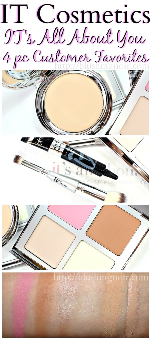 IT Cosmetics IT's All About You Four-Piece Customer Favorites review QVC TSV