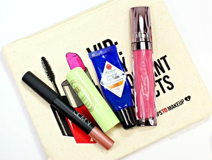 Makeup Bag Lip Products #swissherbs