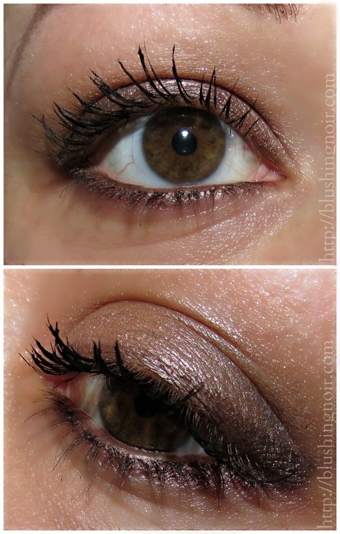 Maybelline Blushed Nudes Palette eye look