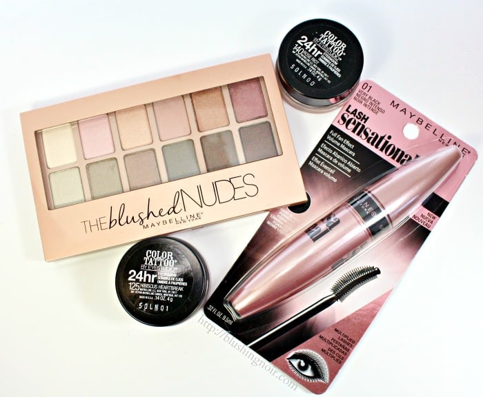 Maybelline The Blushed Nudes Palette Swatches, Review, EOTD + Giveaway!