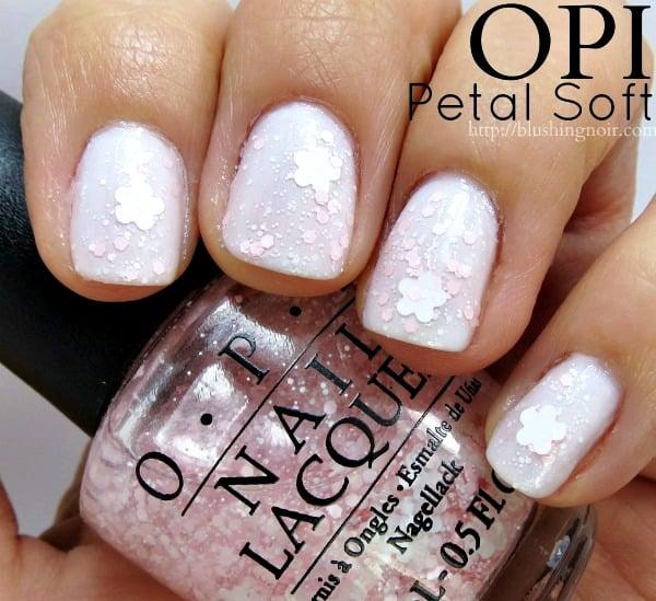 OPI Petal Soft Nail Polish Swatches