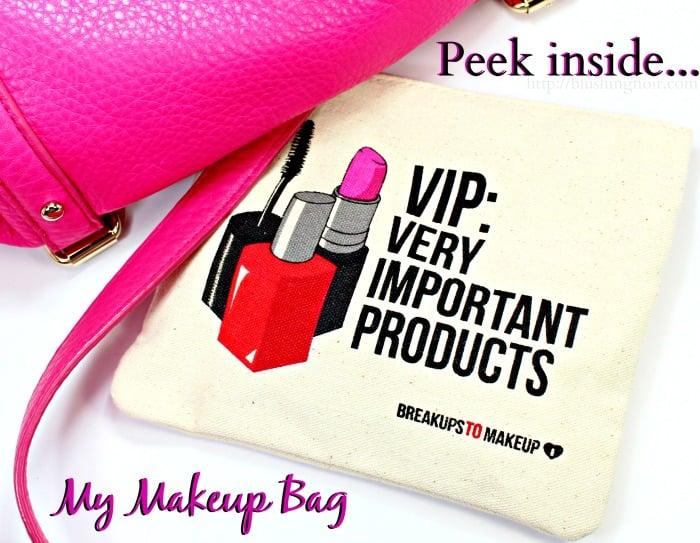 Peek Inside my makeup bag #swissherbs
