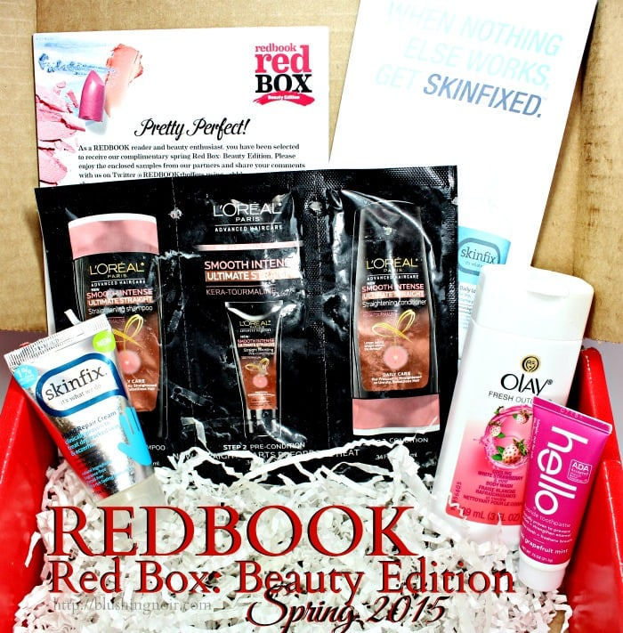 Redbook Red Box Beauty Edition Spring 2015