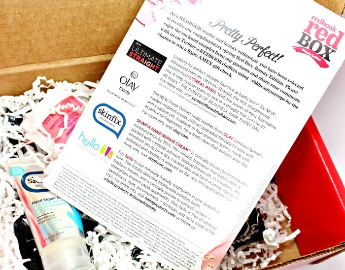 Redbook beauty box 2015