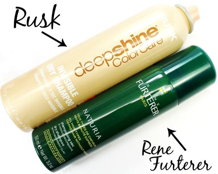 Rusk & Rene Furterer Dry Shampoo