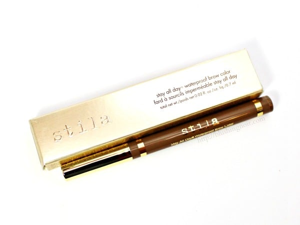 Stila Stay All Day Waterproof Brow Color Review