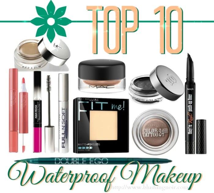 Top 10 Waterproof Makeup