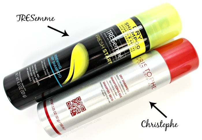 Tresemme Christophe dry shampoo