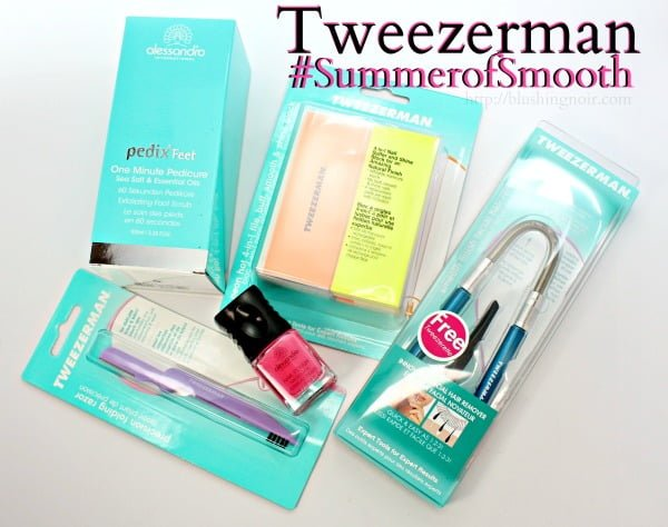 Treat Your Hands, Face & Feet with Tweezerman + alessandro! #SummerofSmooth