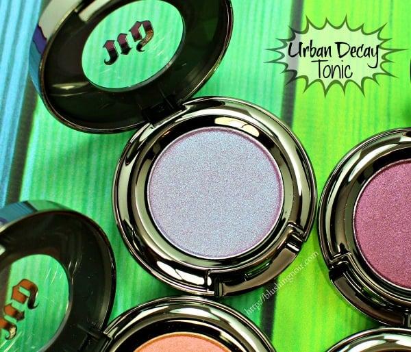 Urban Decay Tonic Eyeshadow Swatches