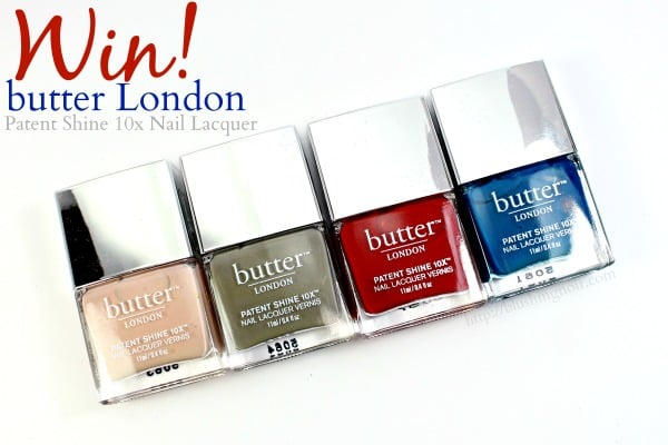 WIN Butter London Patent Shine 10x Nail Lacquer