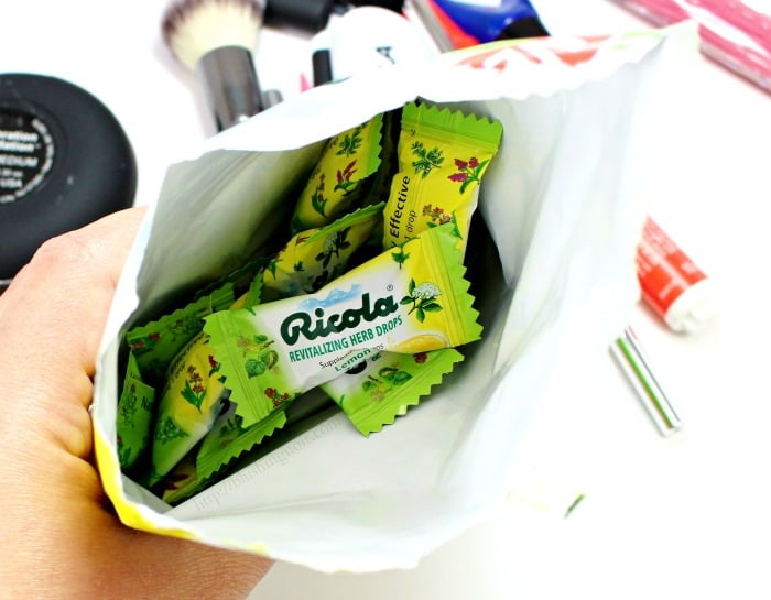 What's In My Bag Ricola #swissherbs