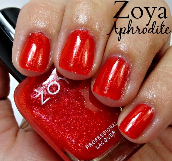 Zoya Aphrodite Nail Polish Swatches