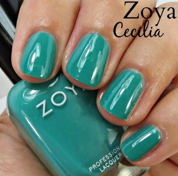Zoya Cecilia Nail Polish Swatches