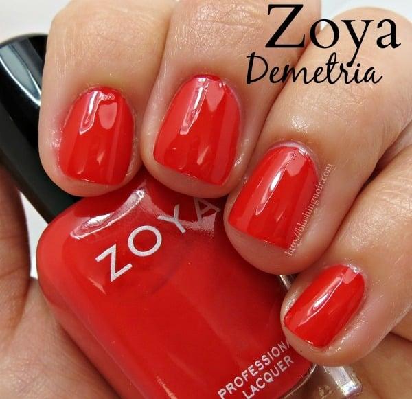 Zoya Demetria Nail Polish Swatches