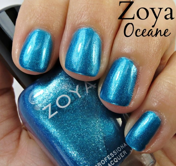 Zoya Oceane Nail Polish Swatches
