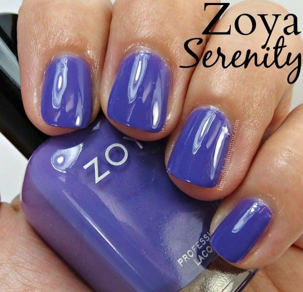 Zoya Serenity Nail Polish Swatches