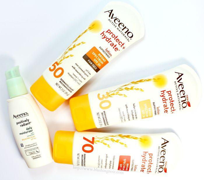Aveeno Protect + Hydrate SPF
