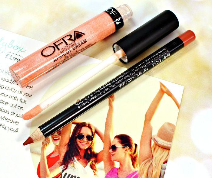 OFRA Baby Doll Lip Liner Apricot Dream Lipgloss