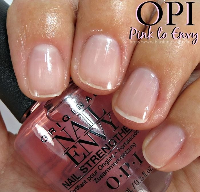 OPI Pink to Envy Nail Polish Swatches