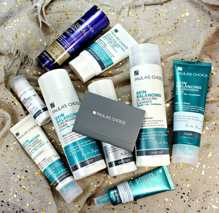 Paula's Choice Skin Balancing Skin Care Review Photos