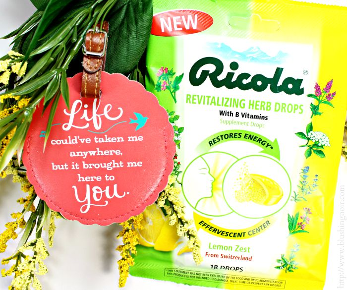 Ricola Lemon Zest Revitalizing Herb Drops #swissherbs