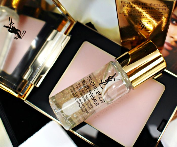 Yves Saint Laurent Touche Eclat Blur Primer & Blur Perfector Swatches + Review