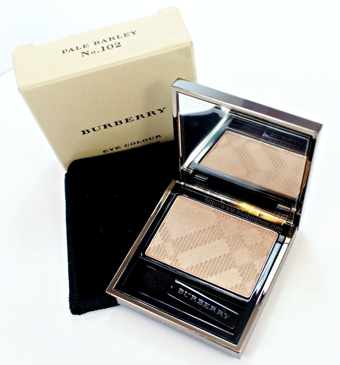 Burberry Pale Barley Eye Colour – Wet & Dry Silk Eyeshadow Swatches + Review