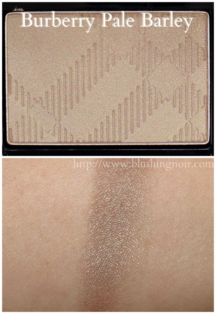 Burberry Pale Barley Eyeshadow Swatches