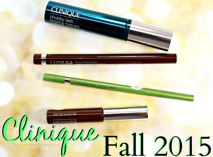 Clinique Fall Colour 2015 Swatches, Review & EOTD
