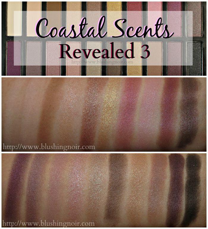 Coastal Scents Revealed 3 Swatches